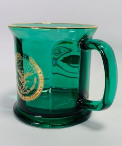 Department of Defense Finance and Accounting Glass Coffee Mug Cup