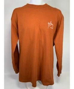 Guy Harvey Original Flying Fish 2004 Long Sleeve Rustic Orange