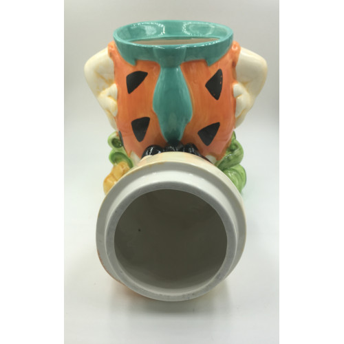 Hanna Barbera Fred Flintstone Ceramic Cookie Jar (1994)