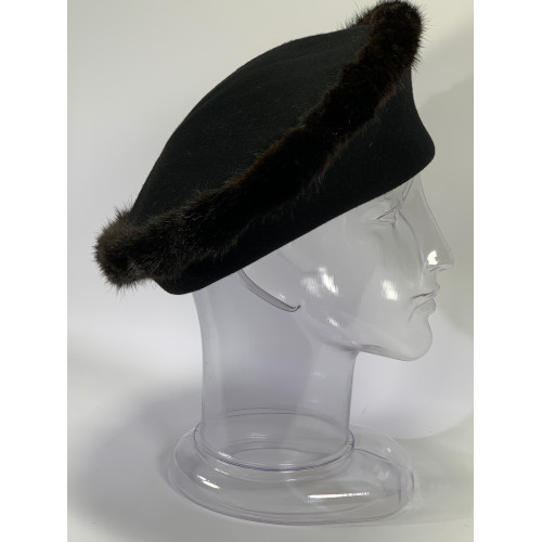 Mr John Wool Mink Brim Hat