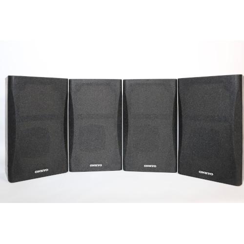 Onkyo SKB-550 Bookshelf Surround Sound Speakers 4 Speakers