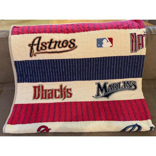 Pottery Barn Kids MLB Baseball Quilt