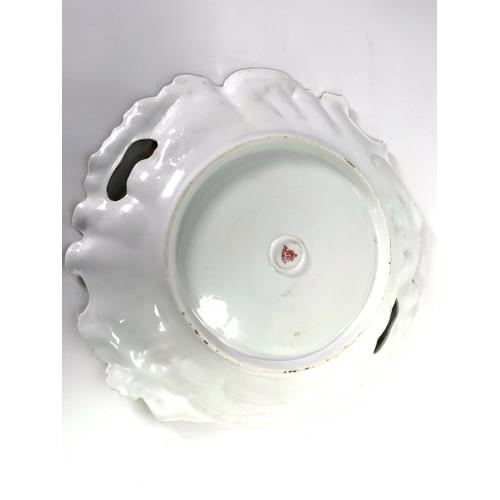 RS Prussia Gold Gilt & Leaf Pattern Porcelain Serving Dish