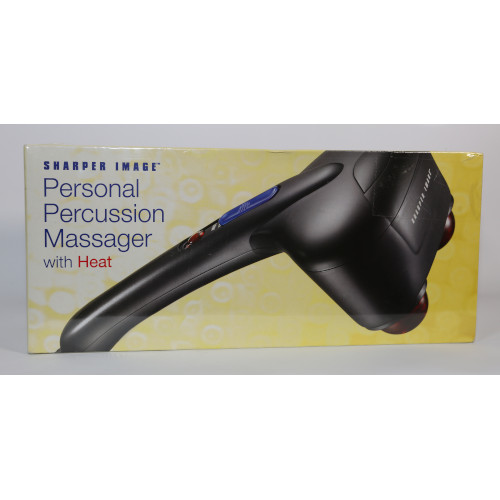 Sharper Image HF758 Hand Held Percussion Heated Body Massager