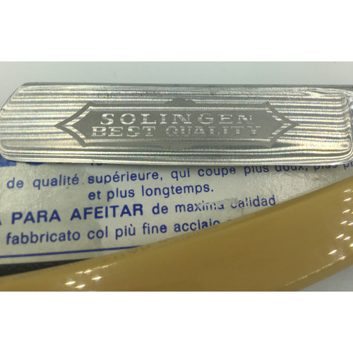 Solingen Germany Straight Edge Razor