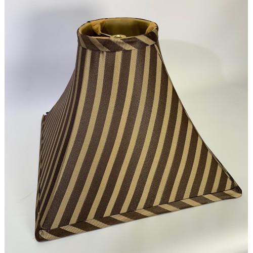 Square Striped Lamp Shade