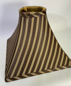 Square Striped Lamp Shade