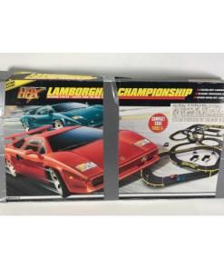 Tyco Lamborghini Championship Magnum 440-X2 Slot Car Set