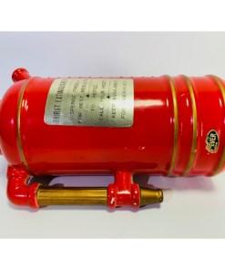 "Vintage ""Thirst Extinguisher"" Red Pitcher Decanter Music Box"