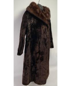 Doris Day Women Fur Coat