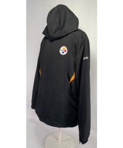 Pittsburgh Steelers On the Field NFL Reebok Hooded jacket