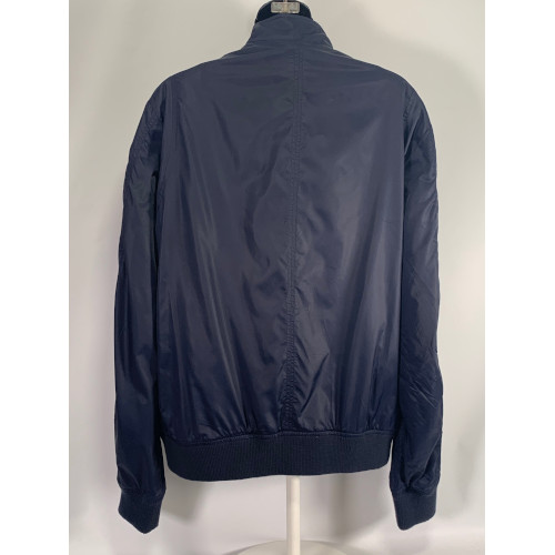 Versace Jeans Women Blue Bomber Jacket