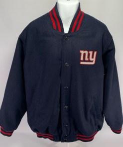 New York Giants NFL G-III Men's Wool Jacket