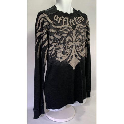 Affliction Thermal Long Sleeve Shirt