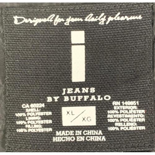 I Jeans by Buffalo Puffer Jacket Black