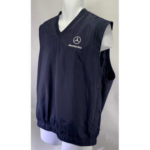 Mercedes-Benz Cutler & Buck CB Windtec Golf Vest Jacket