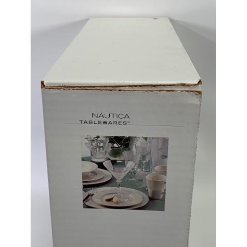 Nautica Arctic White 4-Piece Dinnerware Set 900-145-00