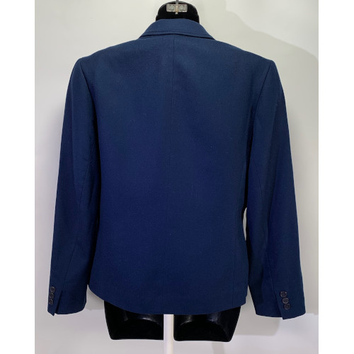 Pendleton Women Navy Blue Wool Blazer