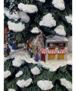 Thomas Kincade Coca Cola Christmas Tree Village