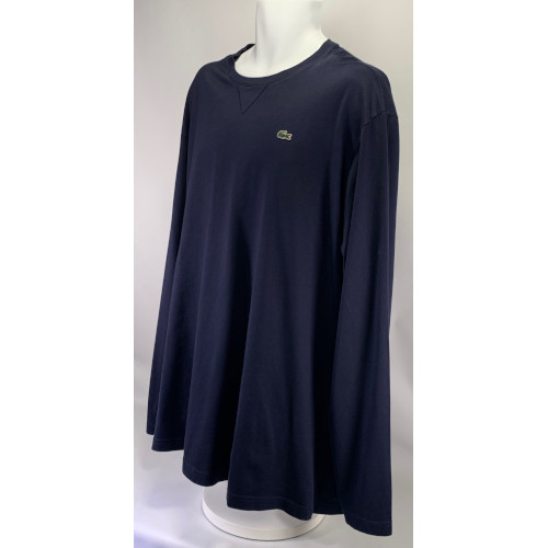Lacoste Long Sleeve Pima Jersey Crew Neck Tee Shirt 3xl