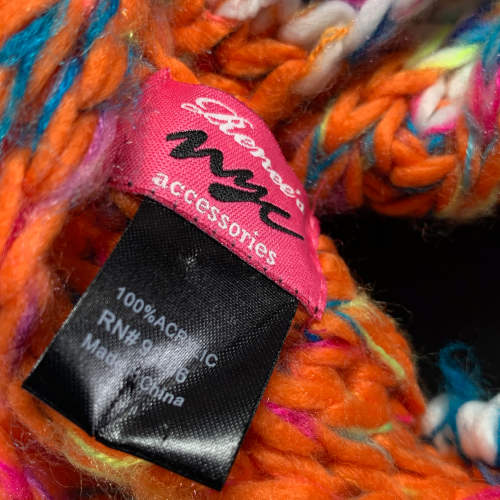 Renee's NYC Multicolor Knitted Infinity Scarf