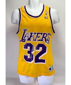 Champion Magic Johnson #32 Los Angelas Lakers Jersey