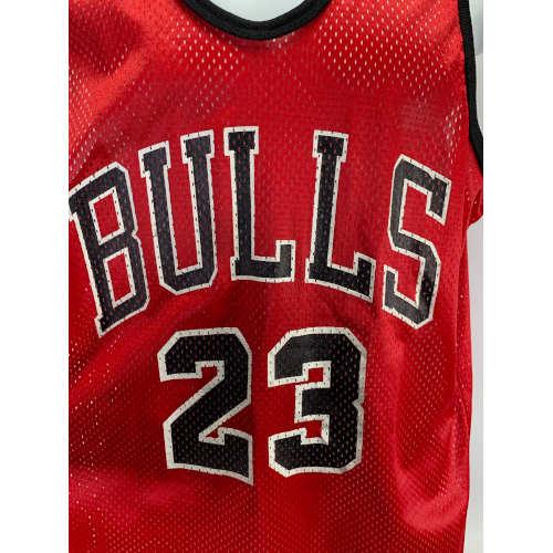 Chicago Bulls Michael Jordan Hanes Mesh Jersey