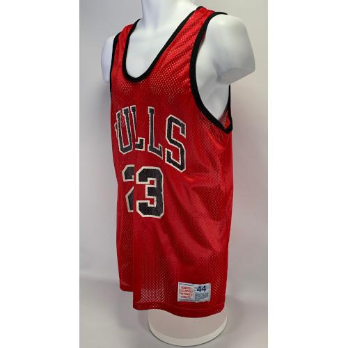 Chicago Bulls Michael Jordan #23 Hanes Mesh Jersey