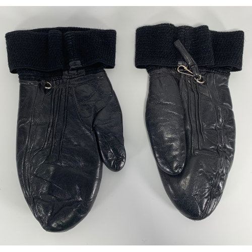 Molinari Ski Leather Mittens Beconta Inc