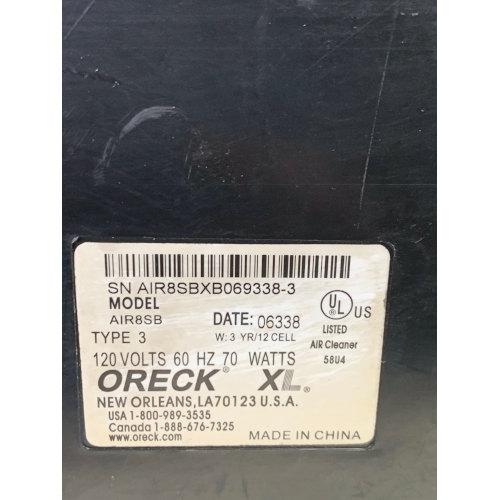 Oreck XL Professional Air Purifier Signature Series Type 3 Air8SD