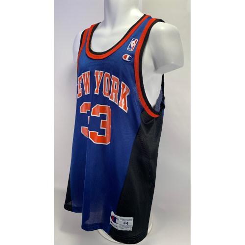 Vintage Rare Champion Patrick Ewing Jersey New York Knicks #33