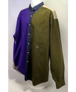 Vintage Tommy Hilfiger Color Block Button Up Shirt