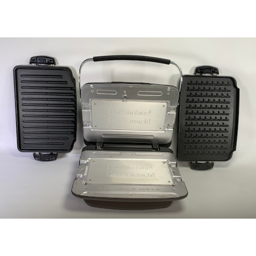George Foreman GRP93G G3 Grill with Removable Plates