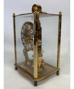 KUNDO Kieninger Obergfell Mantle Anniversary Clock Made in Germany c