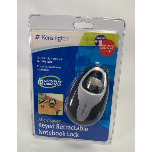 Kensington Retractable Portable Notebook Lock (PC/Mac)