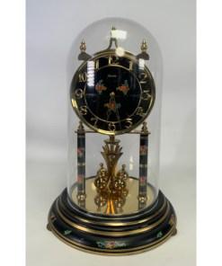 Kieninger & Obergfell Kundo Black Rose Clock