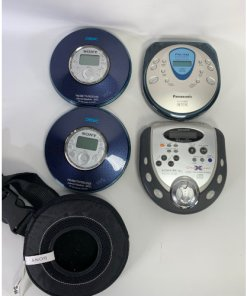 Portable Cd Player Walkman- Bundle