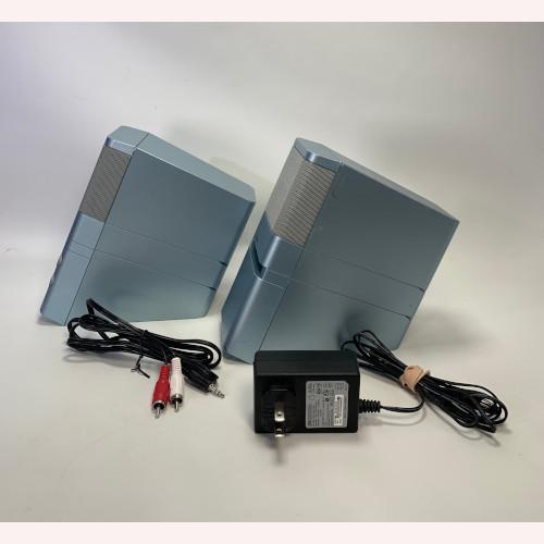 Bose Mediamate Desktop Powered Speakers Ice Cube