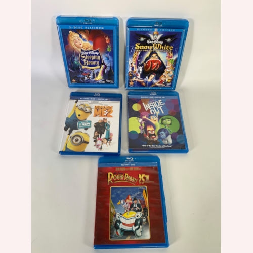 Disney Films Blu-ray & DVD Combo Lot 5