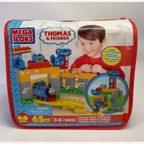 Mega Bloks Thomas The Train Visits The Castle 065541106321