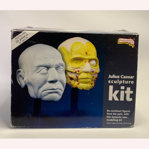 Peg Sculpture JULIUS CAESAR Roman Forensic Science Head Reconstruct Model Kit