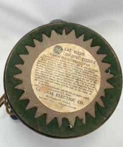 "Vintage General Electric 8"" Non-Oscillating Tilt Fan 42X528"
