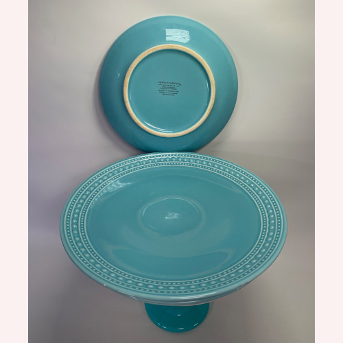 Matceramica Salad Plate M2A20 Teal Matceramica Dinner Plate M2A20 Teal