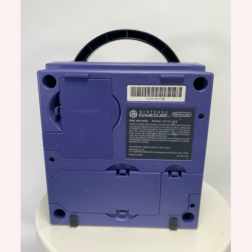 Nintendo Game Cube Purple Indigo DOL- 001