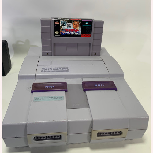 Super Nintendo NES System Video Game Console SNS-001