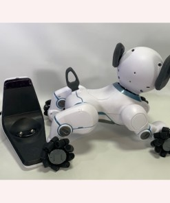 WowWee Chip Toy Robot Dog White 0805 Trainable Interactive Dog & Charger Only