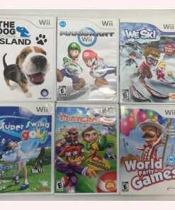 Nintendo Wii Console RVL-001-Bundle -White