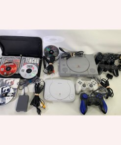 PS one & Playstation PS1 original Console & 9 Games Bundle