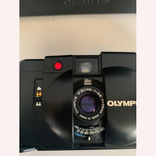 Vintage OLYMPUS XA2 35mm Rangefinder Camera, Black