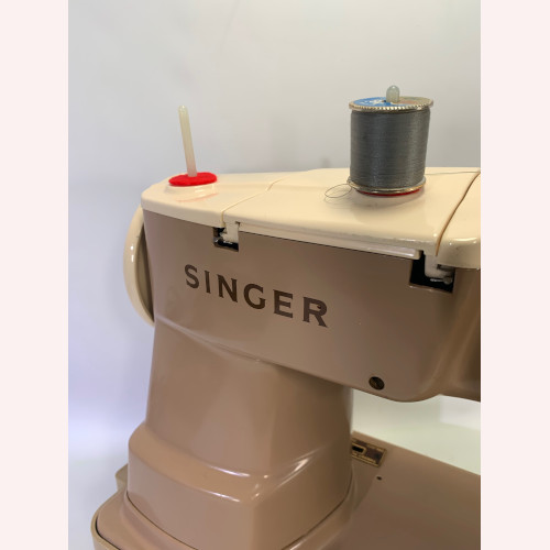 Vintage Singer 403A Slant-O-Matic Needle Sewing Machine